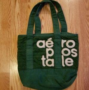 Vintage Aeropastale Green Tote